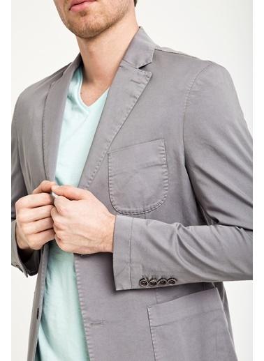Kiğılı Ceket Gri